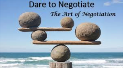 Dare to negotiate RJ TODD